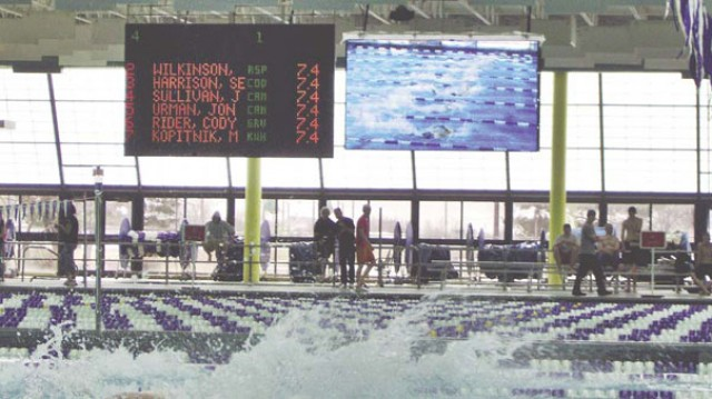 Campbell County Aquatic Center Video Board