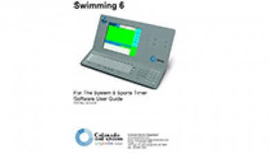 system 6 swim timing manual