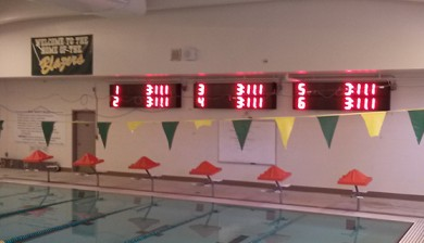 timberline high school swimming scoreboard