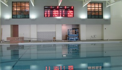 Danville YMCA Swimming Scoreboard