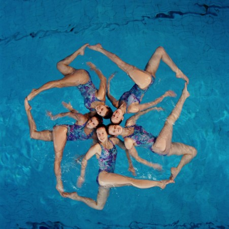 Synchronized swimming scoring software