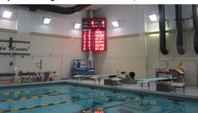 sycamore high school swimming scoreboard