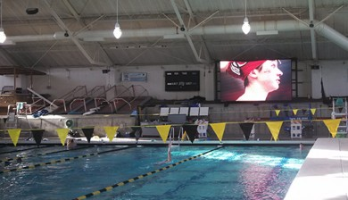 tualatin hills swim club swimming video board