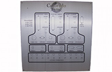 aquatic center wall plate