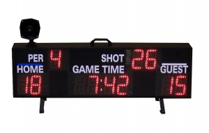 Integrated Wireless Water Polo Scoreboard