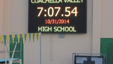 Coachella Valley High School Video Display