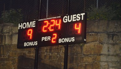 multisport LED scoreboard