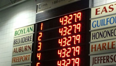 boylan catholic high school swimming scoreboard