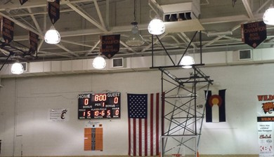 basketball led scoreboard