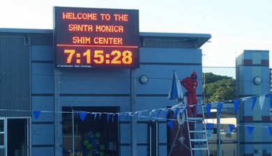 Santa Monica College Swimming Scoreboard