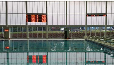 numeric swimming scoreboard