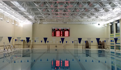 Carol Stream Il >> Colorado Time Systems » 8-lane Electronic Scoreboards