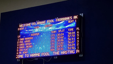 12mm smd video display and swimming scoreboard