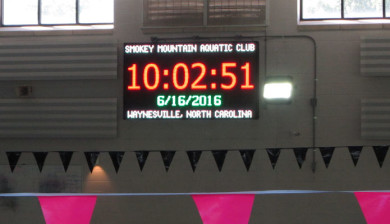 18mm video display and swimming scoreboard