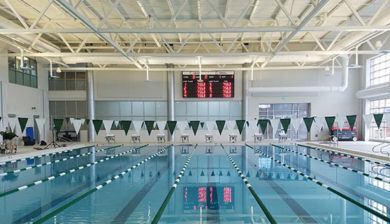 8-lane swimming scoreboard