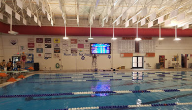 12mm SMD video board and swimming scoreboard