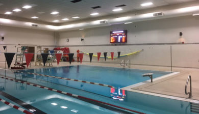 Menomonee Falls 12mm SMD Video Display and Swimming Scoreboard