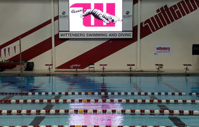 Wittenberg University 10mm SMD Video Display and Swimming Scoreboard