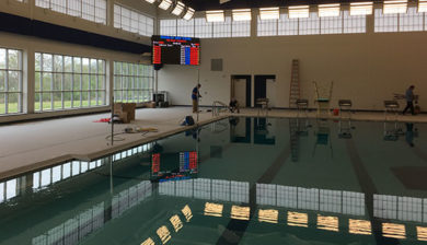 Bensalem High School 18mm Video Display and Swimming Scoreboard