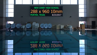10mm SMD Video Display and Swimming Scoreboard